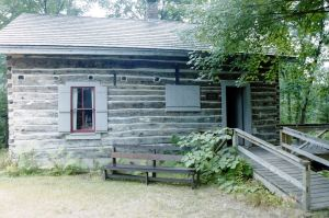 Cabin at Cross Lake Historical Society 2001