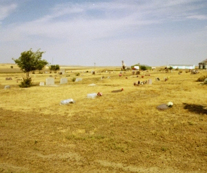 Pioneer Cemetery Overview, Jordan, MT